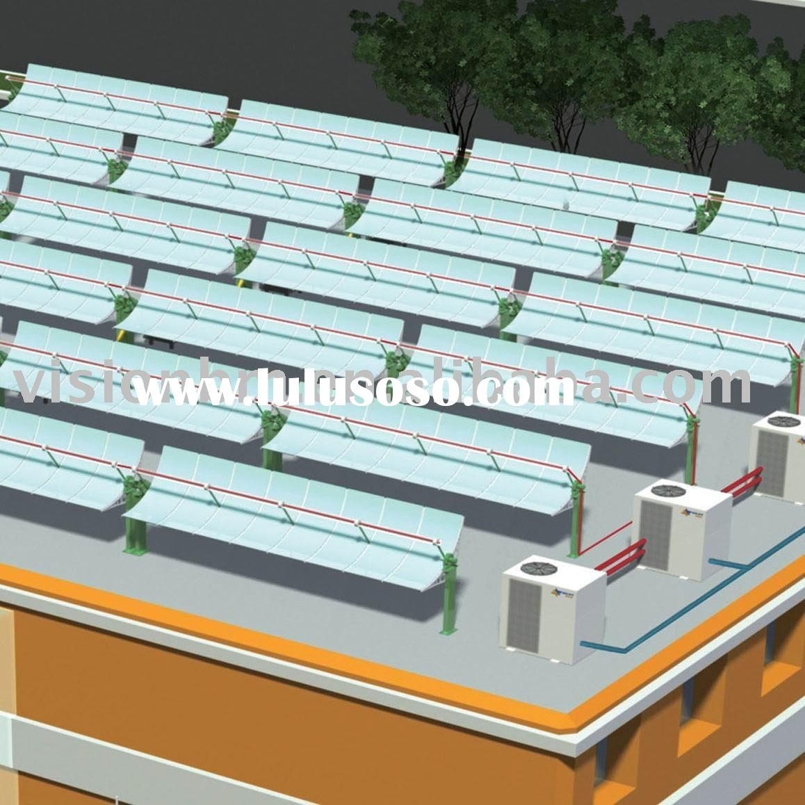 Solar collector for air conditioner (new energy air conditioner system)