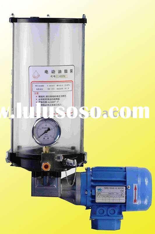central lubrication system(oil pump)
