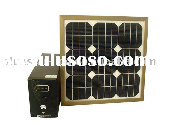 high efficiency portable solar system 25W