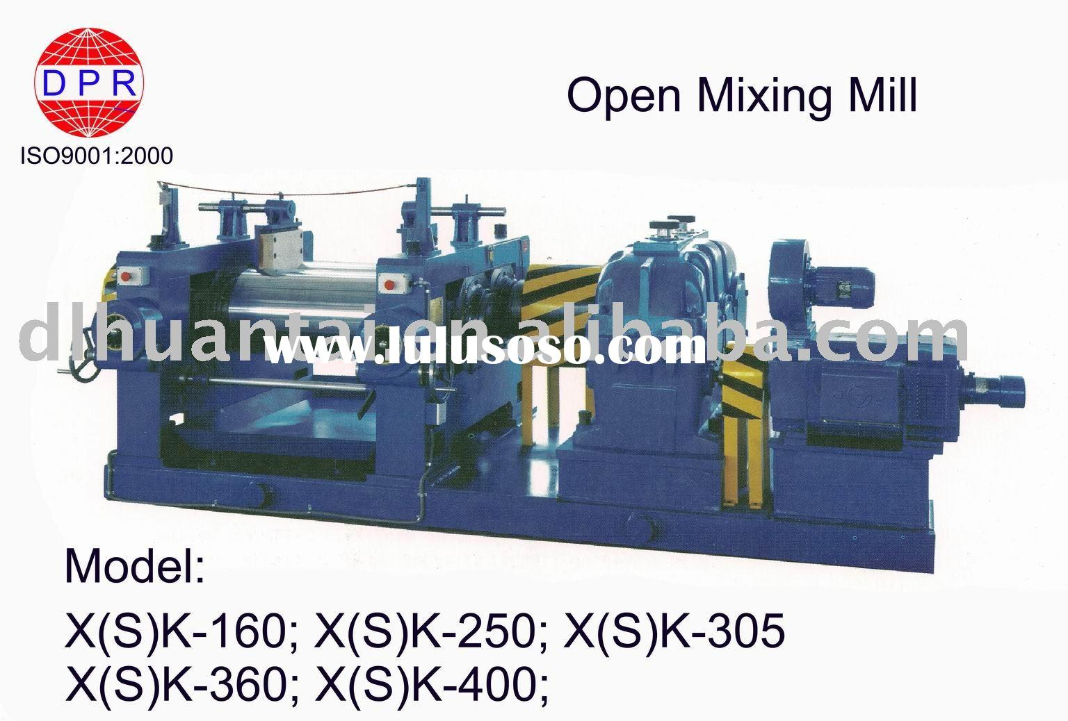 open mixing mill ( ISO 9001:2000) for rubber & plastic industry