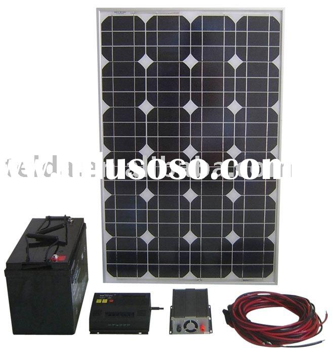 100w off grid home and house solar system