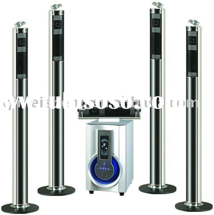 5.1 home theater system speaker with USB/SD/REMOTE CONTROL