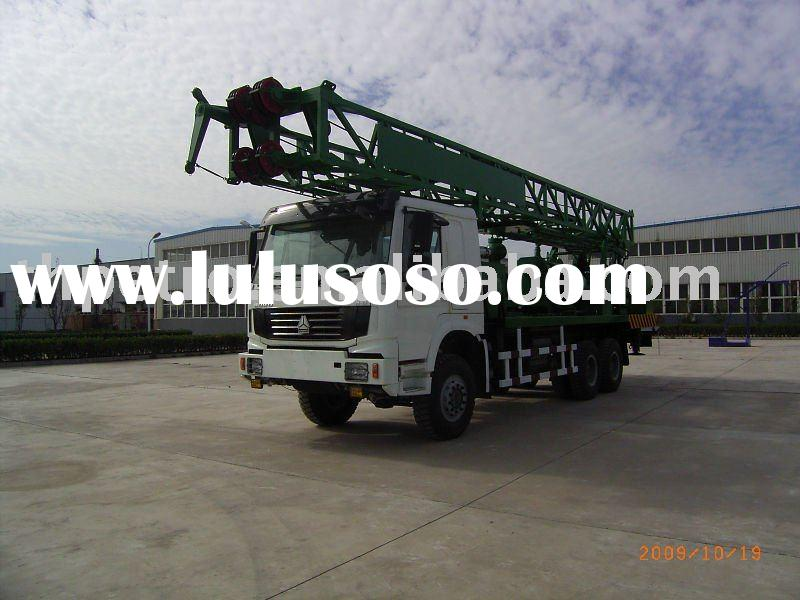 600m Water Well Drilling Truck