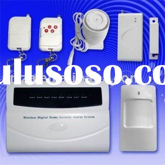 8 Zones Wireless Intelligent Alarm System