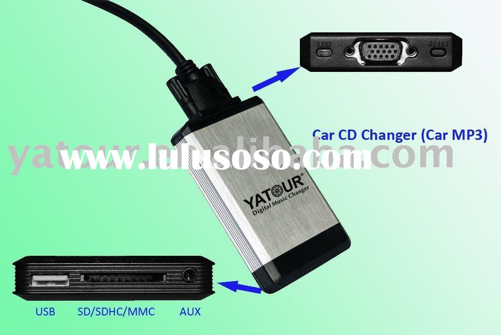 Auto Audio MP3 Player (with USB/SD/AUX)