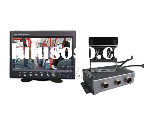 Automatic Parking System, Car Rear View System, In Dash Monitor and Waterproof Camera for Heavy Duty