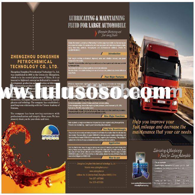 Automotive lubricant nano additives for heavy duty vehicle