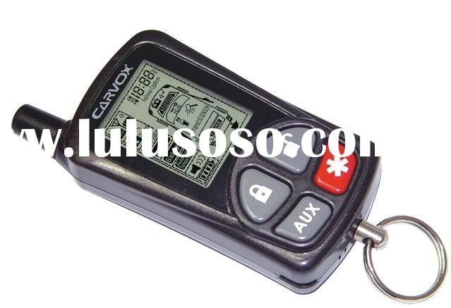 BEST Two-Way Car Alarm System with 3D Shock Sensor