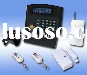 Best products!!LCD GSM Burglar Alarm System with back up battery