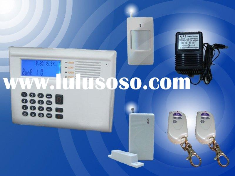 CENTRAL MONITORED INTELLEGENT WIRELESS/WIRED ALARM & CARE SYSTEM