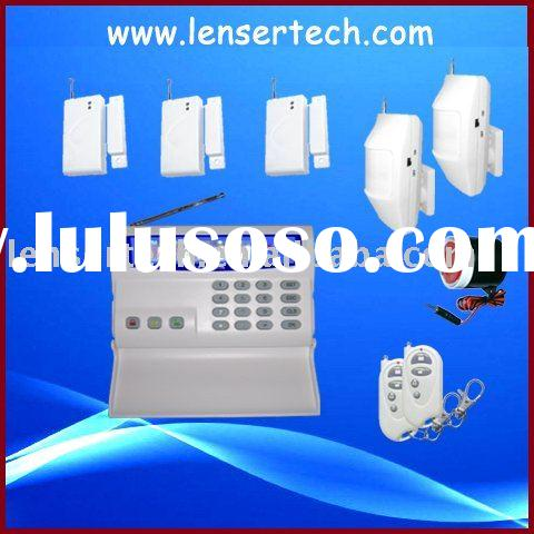 CE certification gsm wireless home security alarm system(LS-GSM-002)