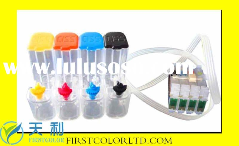 CISS ink cartridge compatible for epson new model T12,T22,TX120,TX420W etc with Latest Chip