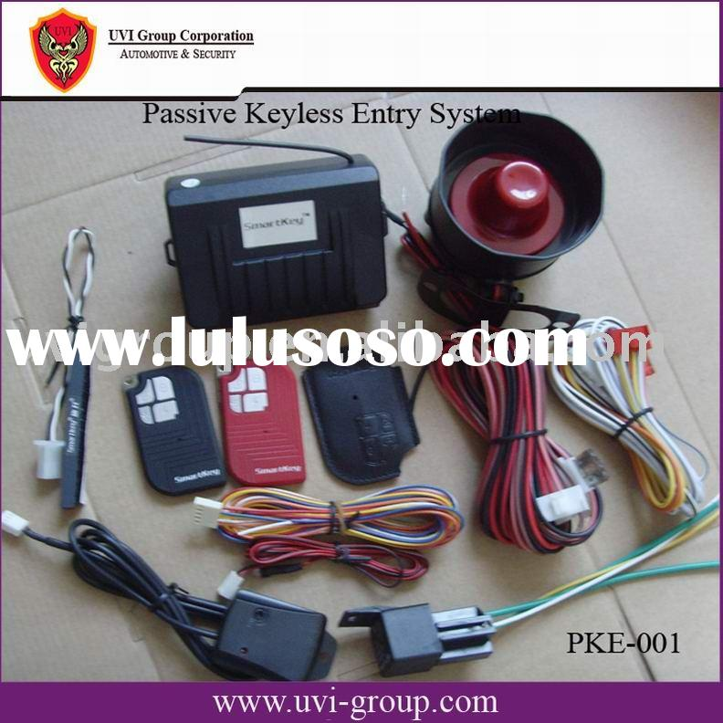 Car Security Alarm System with PKE function, Car owner identification