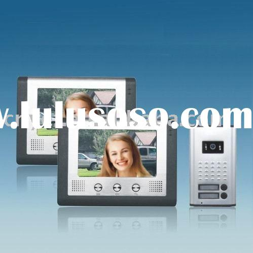 Color Wired Video Door Phone for two families RL-2A027