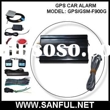 GPS/GSM Car Alarm & Tracking System