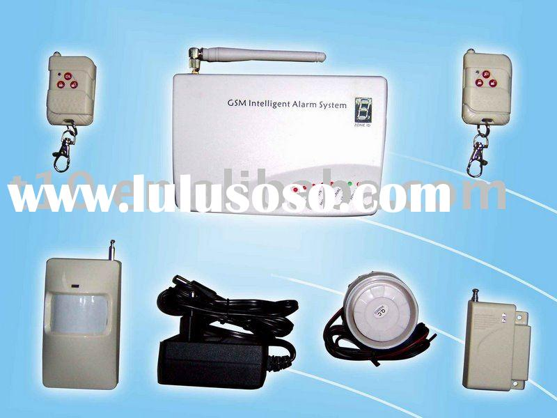 GSM Home alarm system with wireless defense zone and wired inputs(G10H)