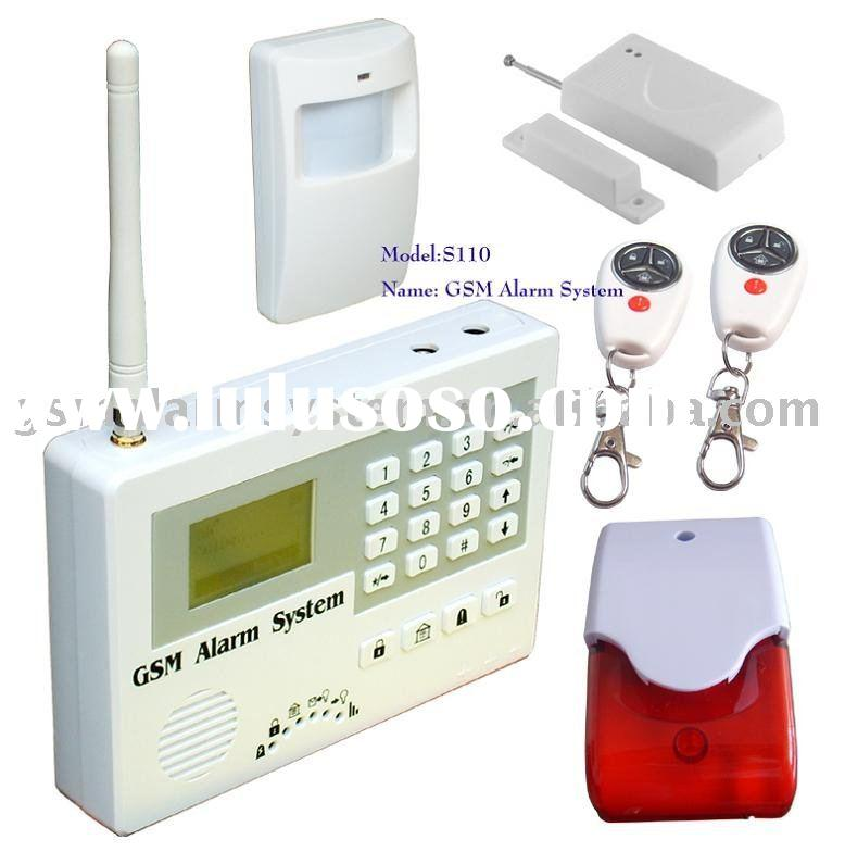 GSM home security alarm system, S110