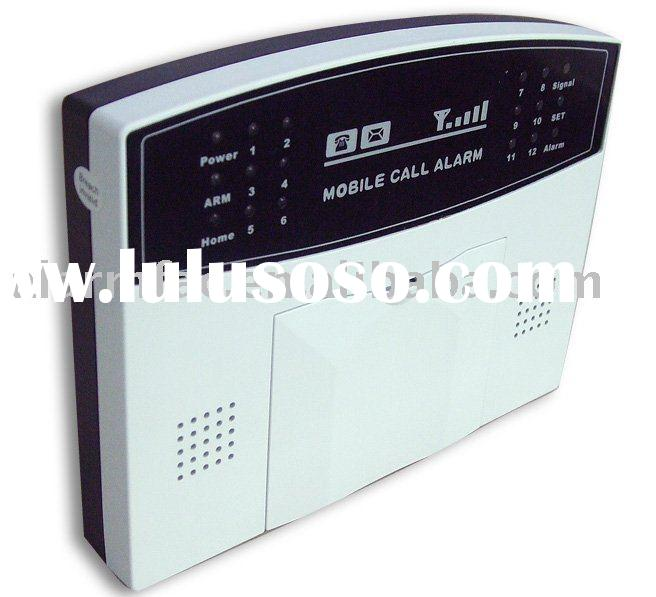 GSM intercom home alarm system with built-in antenna
