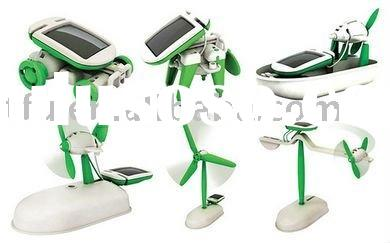 Good selling,Educational solar power 6in 1 toy , gift