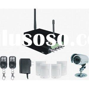 Home Alarm System Can connect Camera