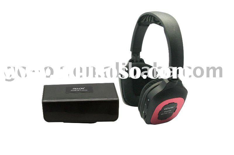 Infrared Stereo Wireless Headphones for home audio system