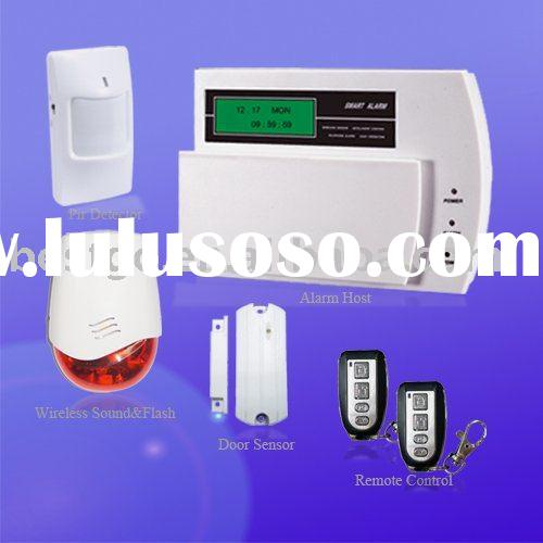LCD Wireless GSM Home Alarm System