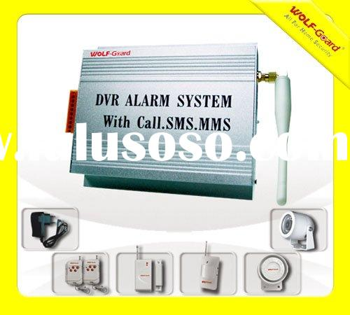 Metal Case Wireless GSM Alarm System