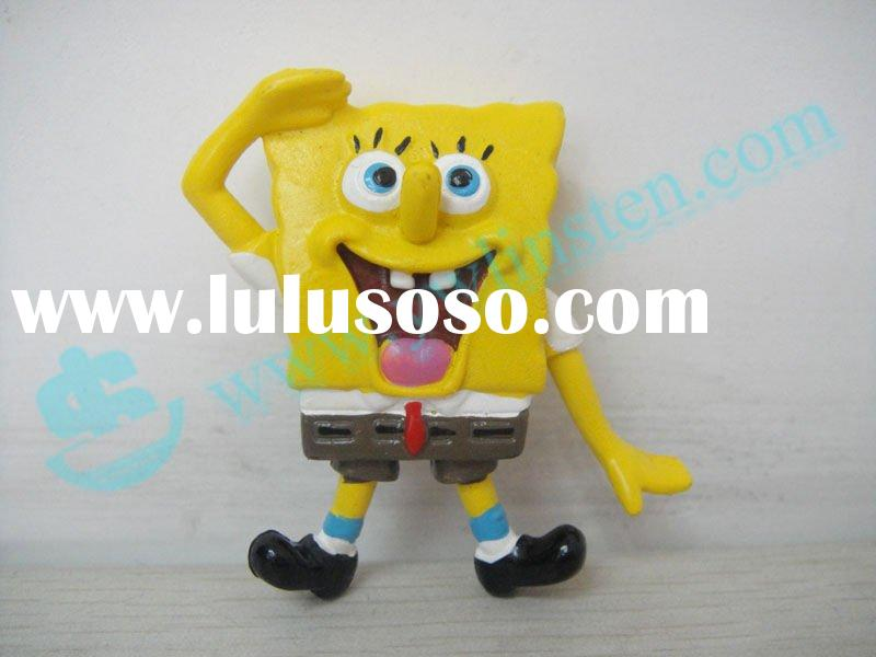 Mini SpongeBob PVC toy