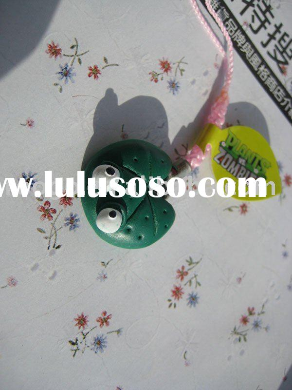 Plants Vs Zombies Lily Pad Key Chain Promotion Gift