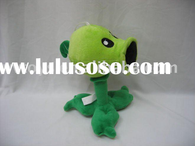 Plants vs zombies - Peashooter plush toy with suction cup