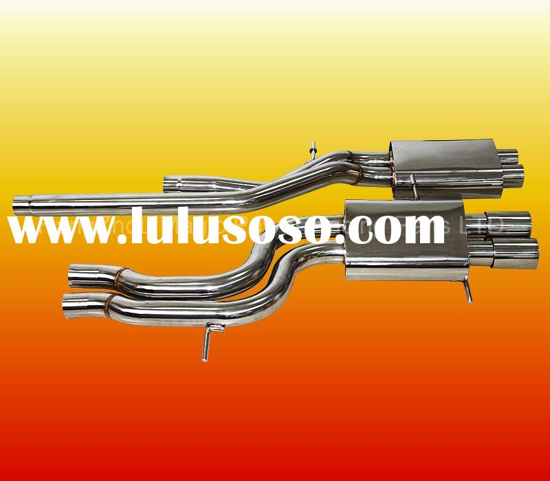 Sound Waving stainless steel turbo exhaust catback for AUDI 2.7L