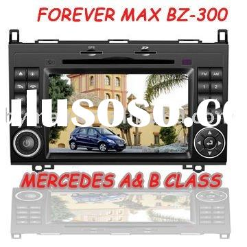 Stock Mercedes A B Class car stereo GPS system