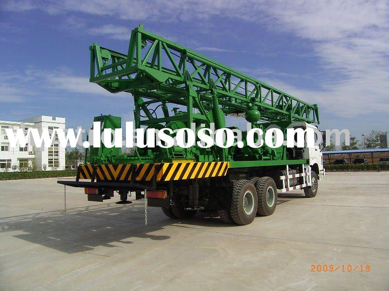 Water Well Drilling Truck