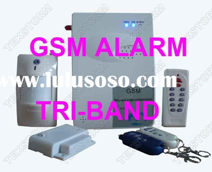 Wireless Gsm Alarm System With Remote Access And SMS control