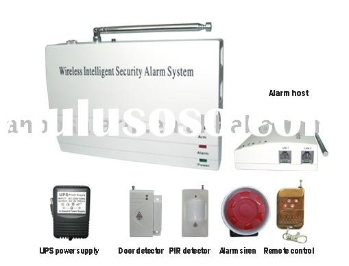 Wireless alarm system kit