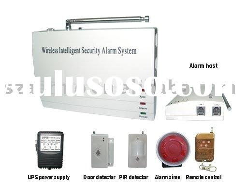 Wireless home burglar alarm system(AM-02)