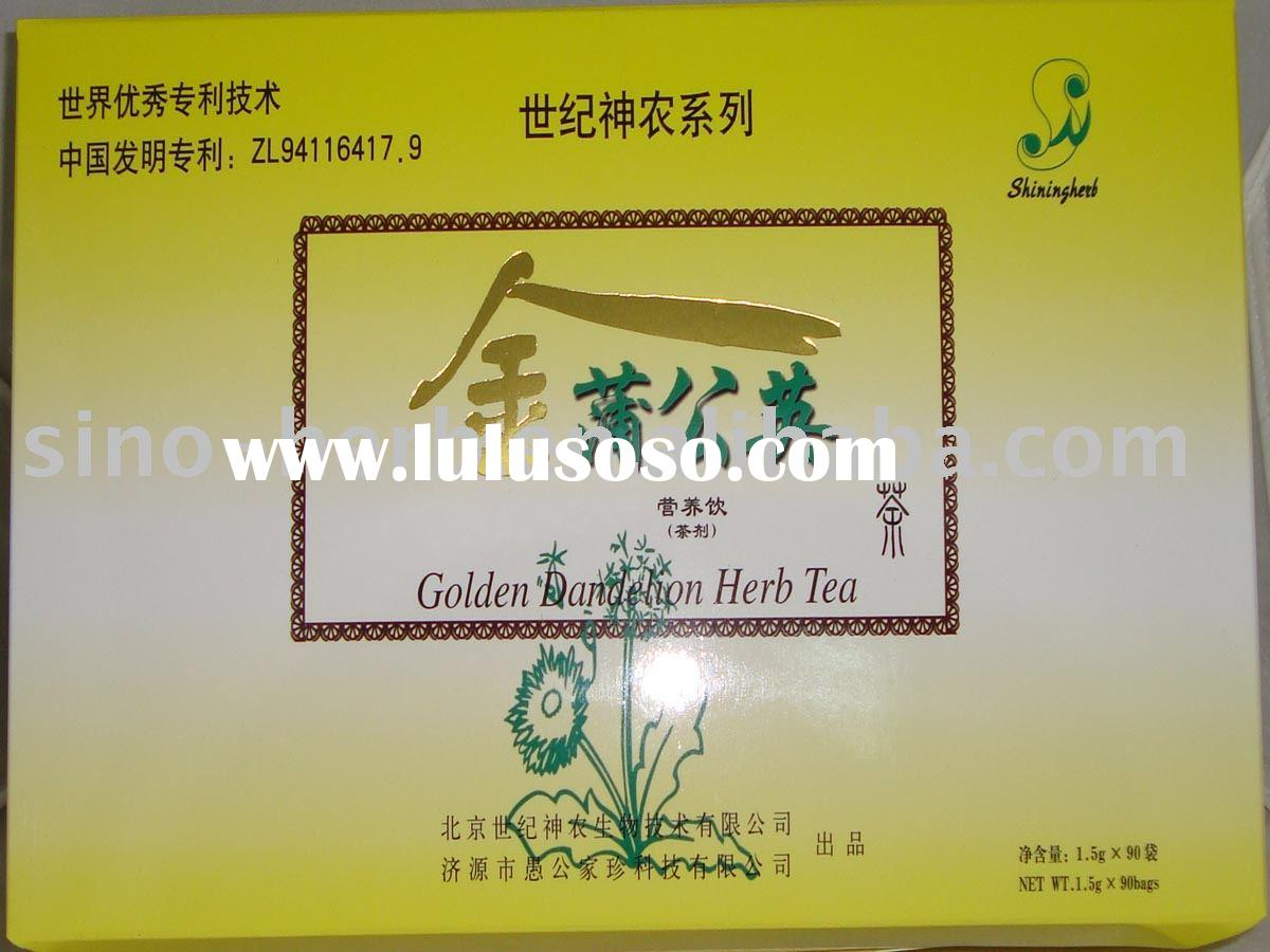 anti-flue herb tea, diet supplement