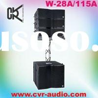 array speaker system indoor and outdoor sound production