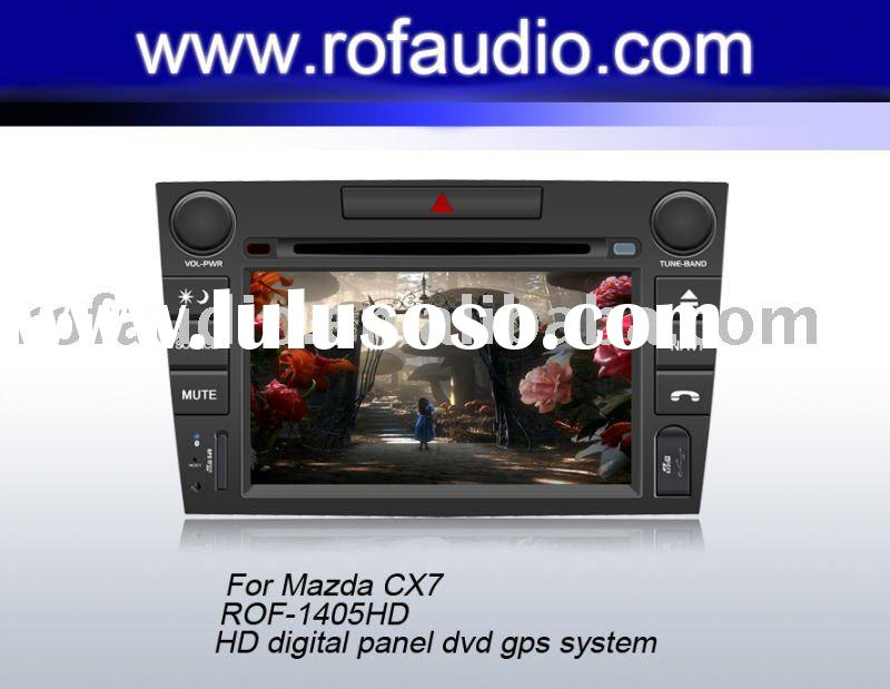 car dvd player for mazda cx 7 support bose system