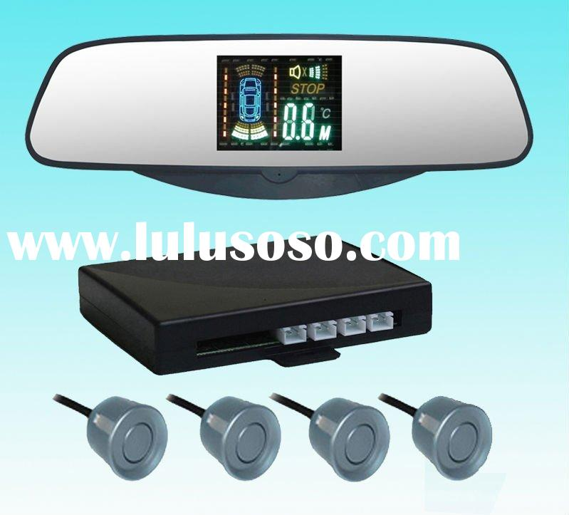 car parking system, car parkings system with mirror . car rear view mirror system