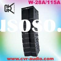 compact high-power line array indoor(outdoor) line array speaker system
