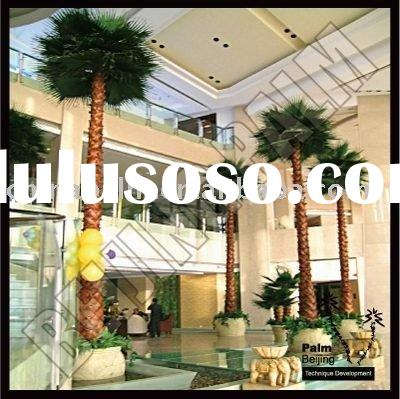 fake palm tree with belt trunk artificial plant bamboo tree