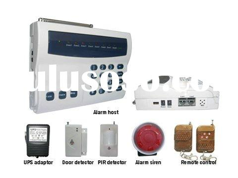 home wireless / wired burglar Alarm System