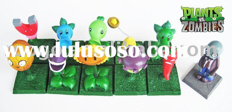 plants vs zombies snow pea figurine desktop decoration