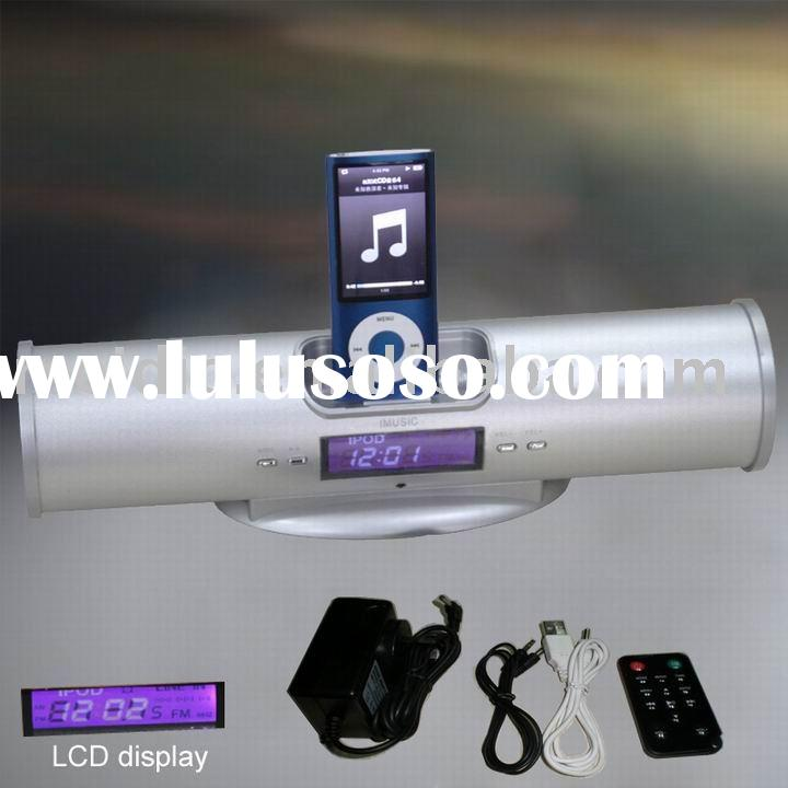 portable audio speaker system for ipod/iphone with CE/ROHS