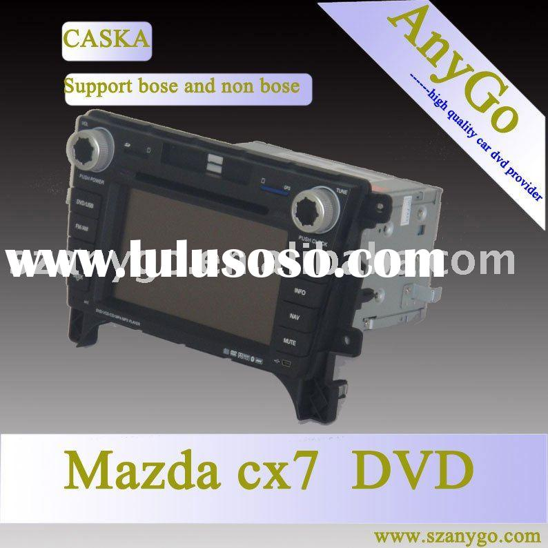 support bose system mazda cx7 radio with dvd buletooth