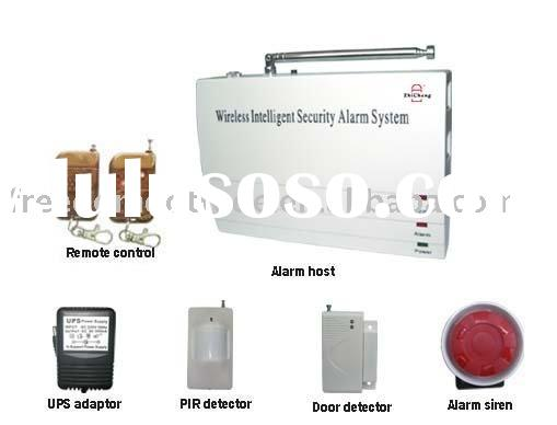 wireless fire alarm system with auto dial