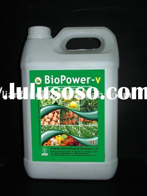 "Plant food ""BioPower-v"", fermented seaweed extract with NPK"