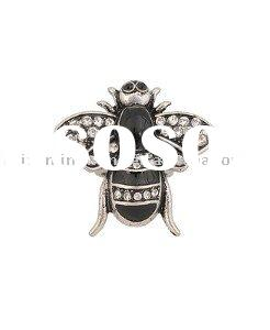 Rhinestone Bumble Bee Ring