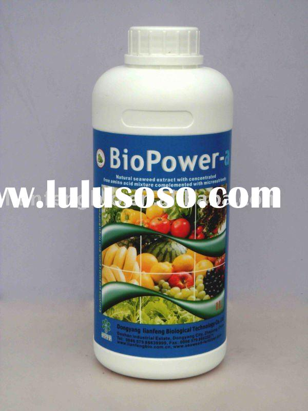 """BioPower-a""seaweed extract fertilizer as Organic amino acid supplement"